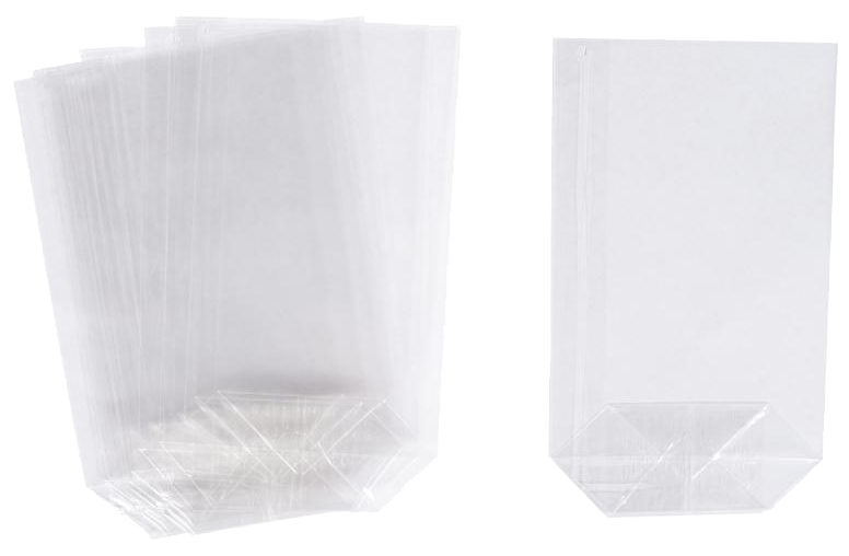 Sachets cellophane